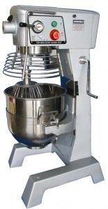 New! 30 QT Mixer 2 HP Motor with 3 S/S attachments