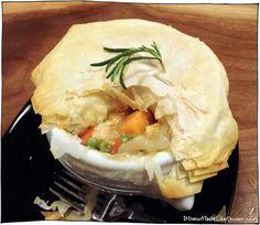 Veggie Pot Pie with Phyllo Crust - Fuss Free Vegan Recipes