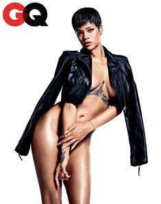 Rihanna x GQ | December 2012
