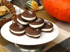 Jenny Steffens Hobick: Football Whoopie Pies | Game Day Recipes