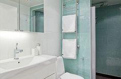 Perfect aqua blue for my someday bathroom! #bathroomdreams @Hansgrohe USA