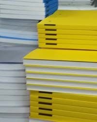 Guest: cover books in yellow & grey  yellow grey