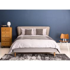 The heat is on: stay cool with the beautiful Bardot Bed now 40% off - hurry sale ends Sunday! #Bed #Bedroom #TextileTuesday #Ercol #Sleep #HealsHome
