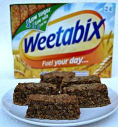 Peanut Butter and Banana Weetabix Breakfast Bar Recipe