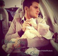 Christian & Phoebe.... Familia GREY