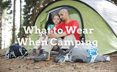 Millions of people enjoy camping every year, and they will all have an idea of their perfect camping clothing, but I thought a little research into what to wear when camping would be interesting. If you are going camping on one of the large camping sites with electricity, a shop, WIFi and more, then what you wear is probably not that important. Camping Clothing, Camping Outfits, Go Camping, Campsite, Wifi, What To Wear, Thoughts, Shop, People