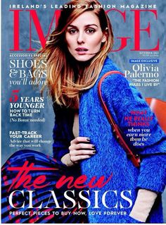 Olivia Palermo for Image Magazine Ireland October 2015 cover