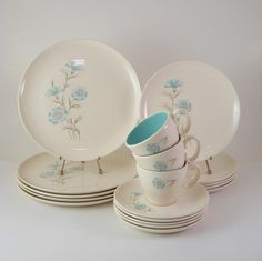Mid-Century Taylor Smith Taylor China Ever Yours Boutonniere -