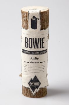 "fabric label — sad because I kind of maybe repinned b/c it says ""bowie"""