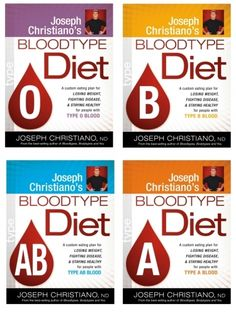 Blood Type Diet plans for each Blood Type, O Blood Type, A Blood ... #weightlossmotivation