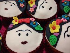 Cup cakes  Frida Kahlo