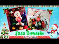 IMAN NAVIDEÑO/TATY ARTS/IDEAS NAVIDEÑAS - YouTube