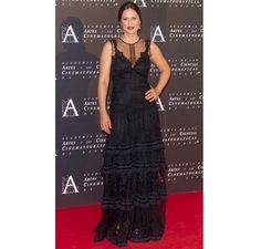 YolanCris| Aitana Sánchez Gijón vestida de #YolanCris para los premios honoríficos de la Academia de Cine. #aitanasanchezgijon #academiadecine #cine #medalla #premiohonorifico #estilismo #actriz