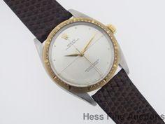 Genuine Rolex Gold Bezel 1008 Zephyr Model Working Mens Watch