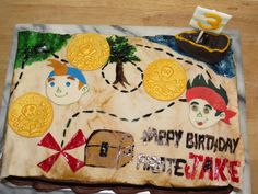 "Jake and the Neverland Pirates | CakesByKAT's Blog ""Happy Birthday, Pirate Cashel"""