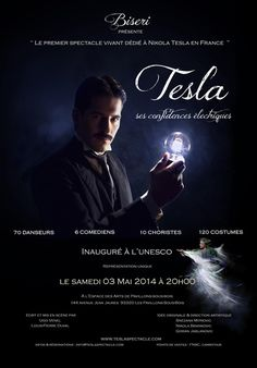 Spectacle vivant dédié à Nikola Tesla