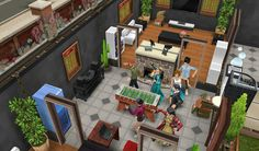 Dans vakti. SimsFreePlay