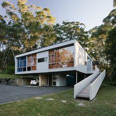 "Gefällt 382 Mal, 8 Kommentare - ArchiBlox (@archiblox) auf Instagram: ""One of the finest examples of mid 20th-century modern architecture in Australia. Rose Seidler House…"""