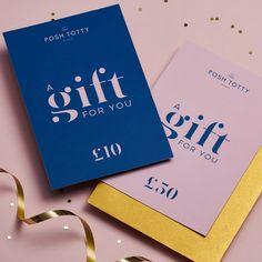 Posh Totty Designs Gift Voucher | Posh Totty Designs