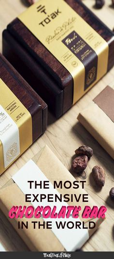 Can you taste the difference between $3 and $260 chocolate bars?