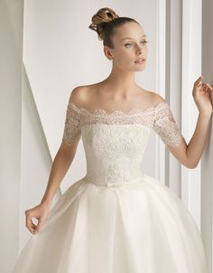 Dress Of The Week + Rosa Clara Wedding Tops - Belle The Magazine
