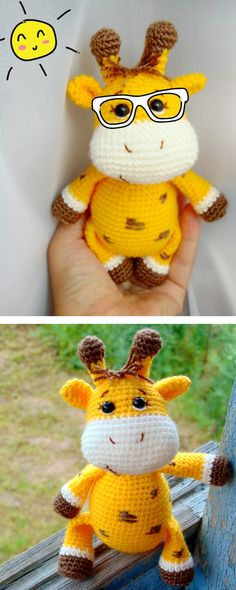 Baby giraffe wishes you a great summer time!