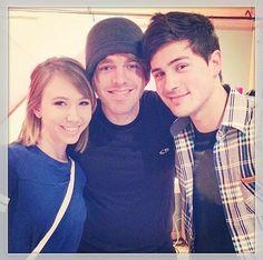 Kalel, shane, and Anthony