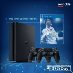 There's no time like the present to master your FIFA skills or rise through the ranks in Call of Duty. Get a gaming console on rent, and stay entertained and safe at home! Rent Now Thinking of Renting. Think of Rentickle! Xbox, Ps3, Ps4 Games, Call Of Duty, Fifa, Fun Workouts, Console, Entertaining, Renting