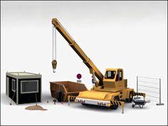 3D Model of Construction Suite
