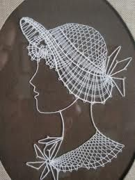 string art from the I remember making these. Nail String Art, String Crafts, Arte Linear, Stitching On Paper, Embroidery Cards, Lacemaking, Thread Art, Pin Art, Bobbin Lace