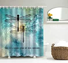 Amazon Com Dragonfly Shower Curtain Shower Curtains Prints