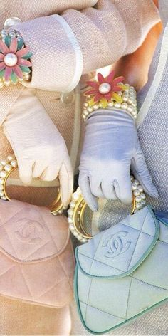 #Chanel in Pastels #Luxury.com