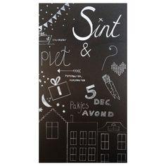 Sinterklaas chalkboard DIY [harten8]