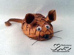 Myška hnedá 8cm .