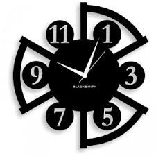 Beautiful blacksmithing wall clock