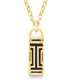 Tory Burch Tory Burch For Fitbit Fret Pendant Necklace... this would be a great way of hiding my bit :)