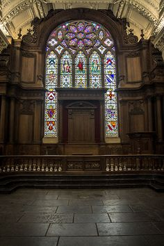 Royal Hospital Kilmainham - Stained Glass Window In The Chapel