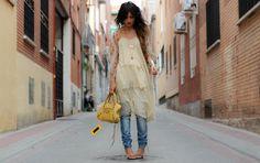 Gorgeous style via Madame de Rosa!