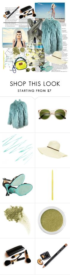"""Untitled #832"" by dianekinkade ❤ liked on Polyvore featuring Sarah Jessica Parker, Birger Christensen, Prada, Beach Collection, Chanel, Betsey Johnson, Stila, Bare Escentuals, Iman and Bobbi Brown Cosmetics"