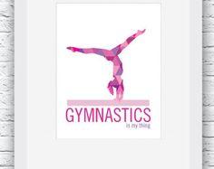 Regalo regalos de gimnasia gimnasta gimnasia póster
