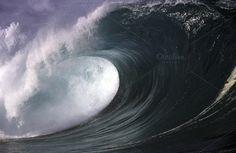 Ocean Wave in Hawaii by John Seaton Callahan on @creativemarket