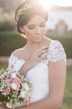Brautkleider in der Sonne Andalusiens   Friedatheres.com