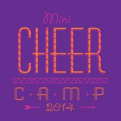 Cheerleading Camp Design CHC91