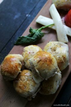 Caprese Pizza Rolls from Diethood