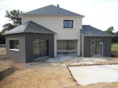 La maison MILO de Alliance Construction vue de face à partir de la ...