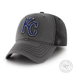 264e6481dee Kansas City Royals Stretch Fit Hat  47 Brand Saluki Hat Tigers Baseball