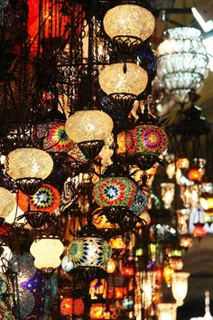 Lamps - Istanbul