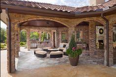 covered backyard