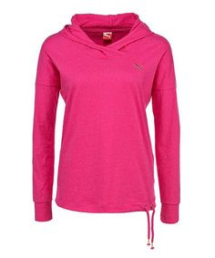Another great find on #zulily! Beet Root Purple Core Lightweight Hooded Coverup Top by PUMA #zulilyfinds