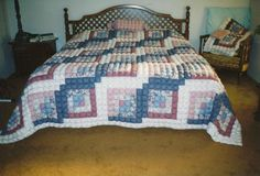Biscuit Quilt--King Size--a formidable project
